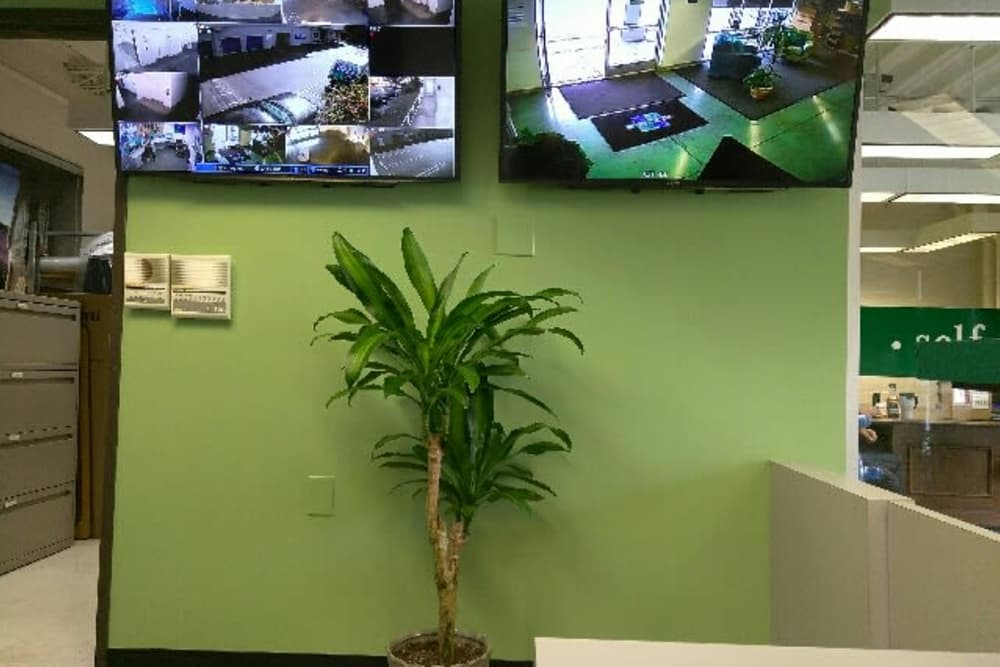 Inside the Business Office at Storage Etc... Woodland Hills