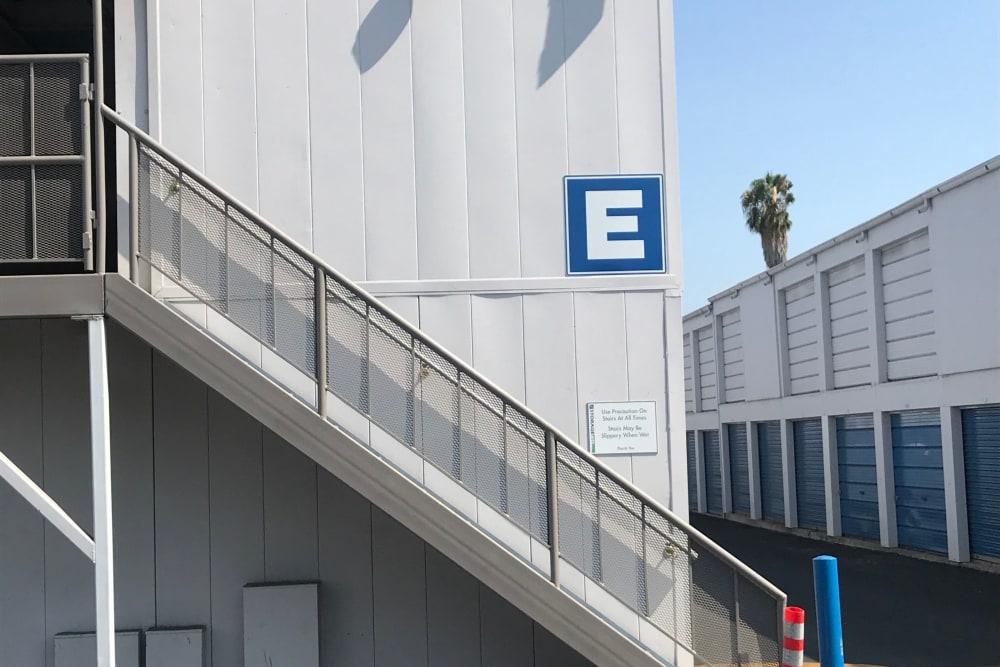 Outdoor Storage Units at Storage Etc... Los Feliz
