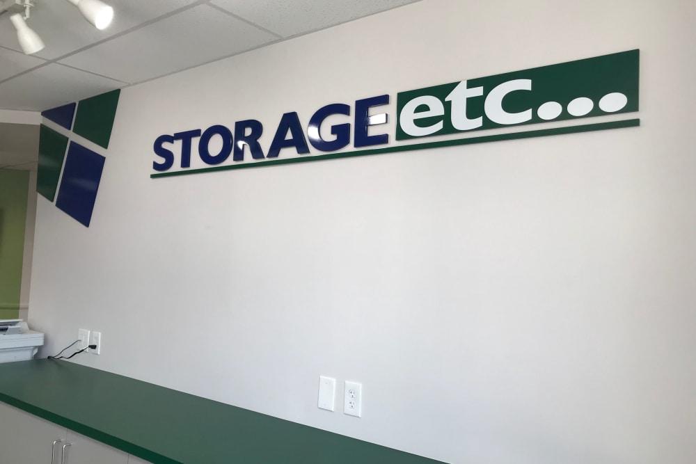 Storage Leasing Office at Storage Etc... Los Feliz