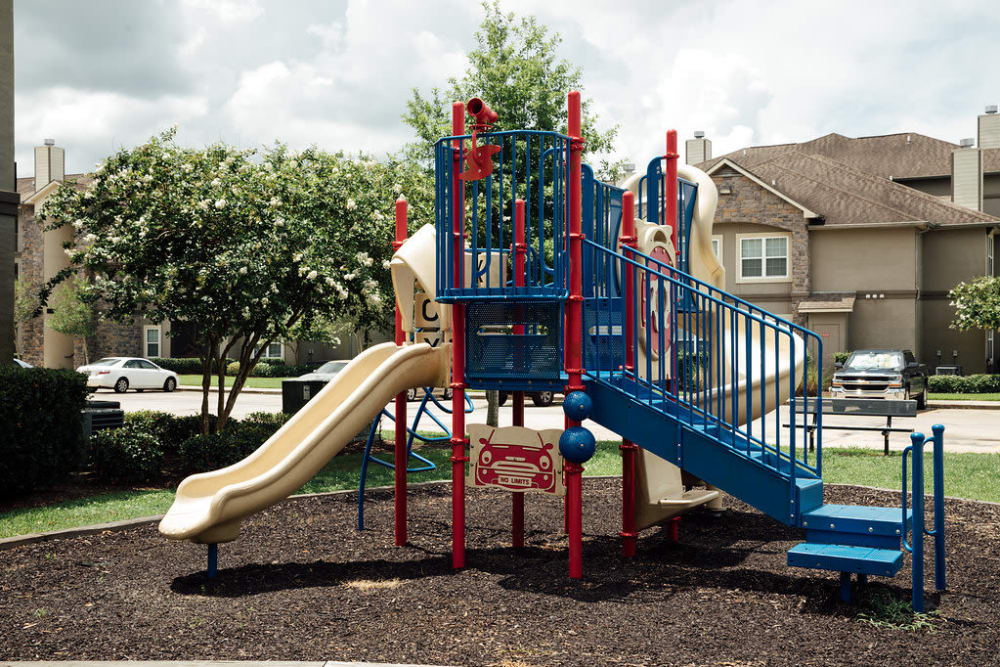 Playground at Belmere Luxury Apartments in Houma, LA