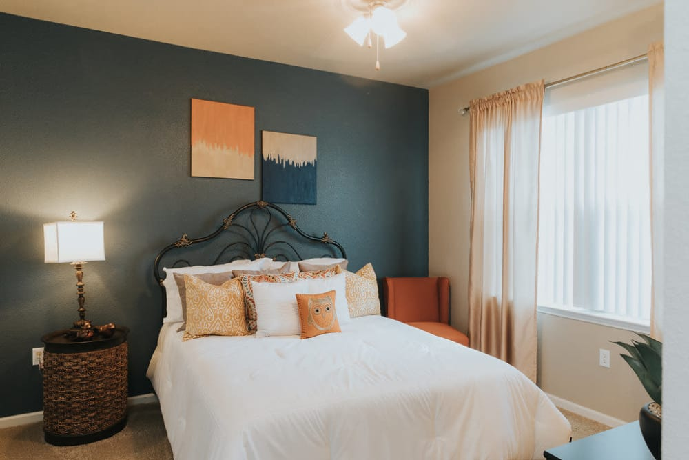 Bedroom at Belmere Luxury Apartments in Houma, LA
