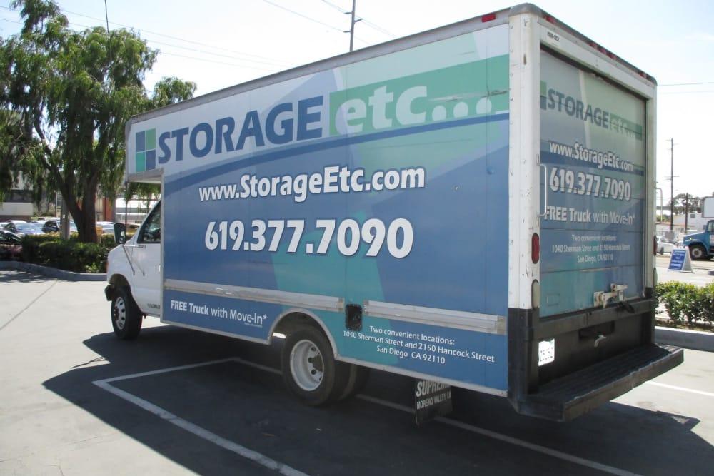 Moving Truck Rental at Storage Etc Sherman St