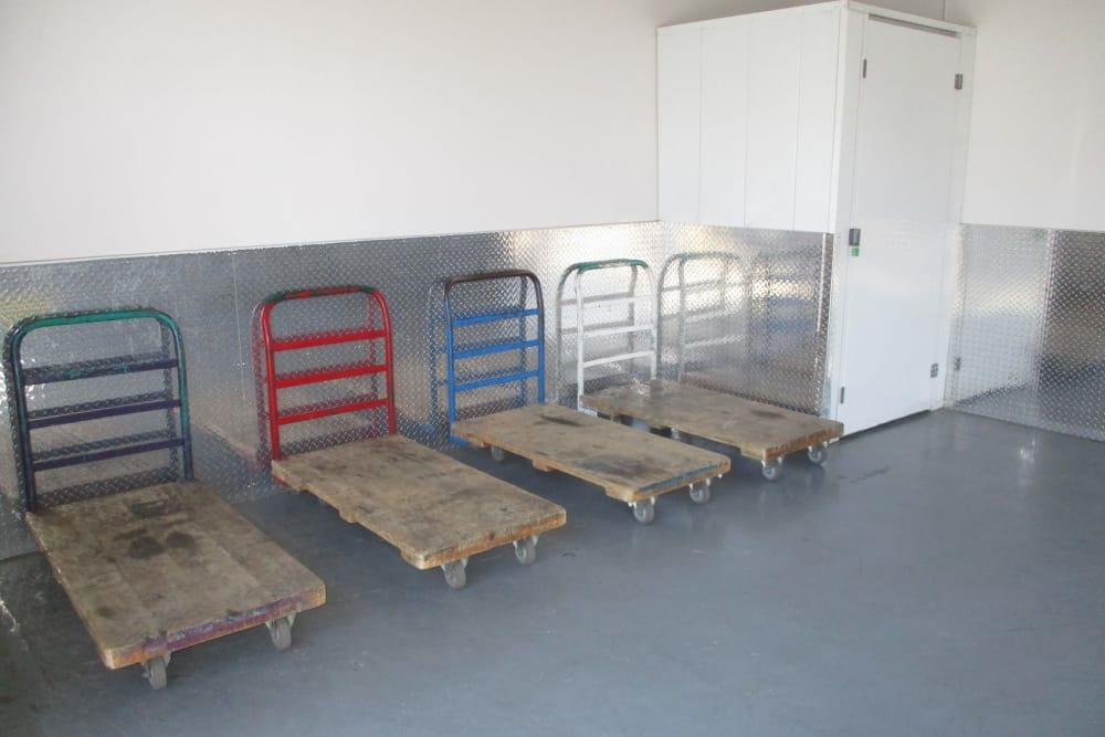 Interior Storage Units at Storage Etc Sherman St