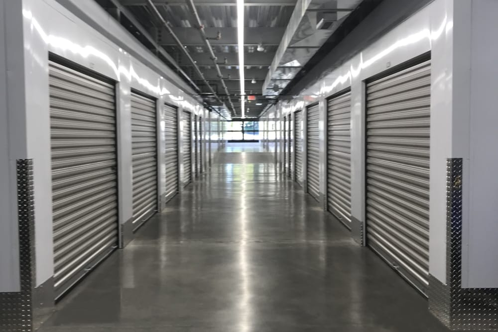 Interior units at Hollow Tree Self Storage in Darien, Connecticut