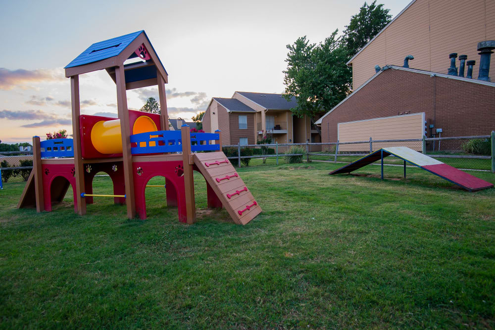 Fun playground at Windsail Apartments in Tulsa, Oklahoma