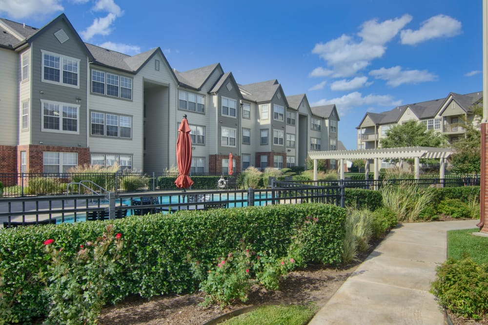 Swimming pool at Villas At Preston Lakes in Owasso, Oklahoma