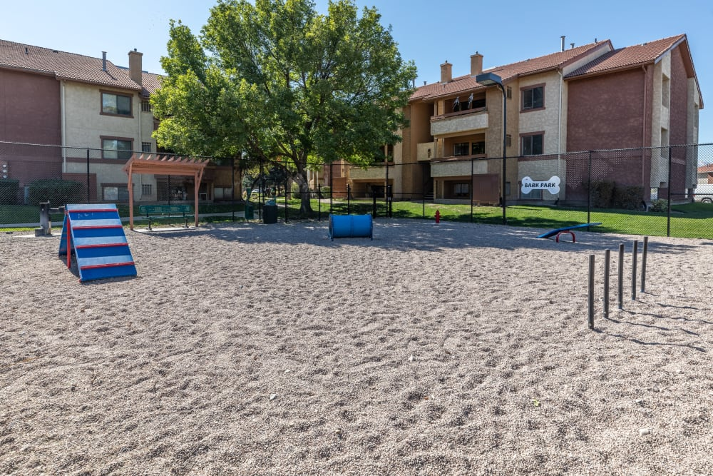 Outdoor spaces at Shadowbrook Apartments