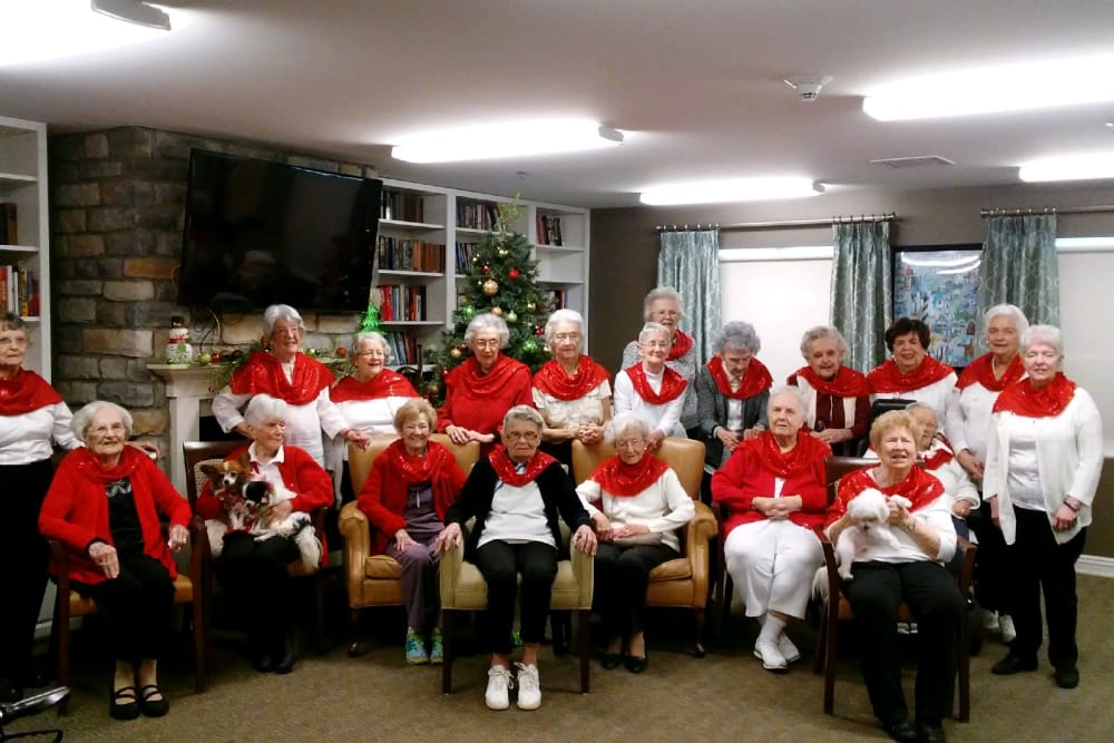Rockettes at RobinBrooke Senior Living