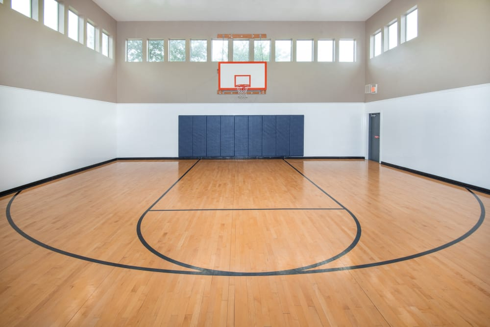 Our Apartments in Carrollton, Texas offer a Basketball Court