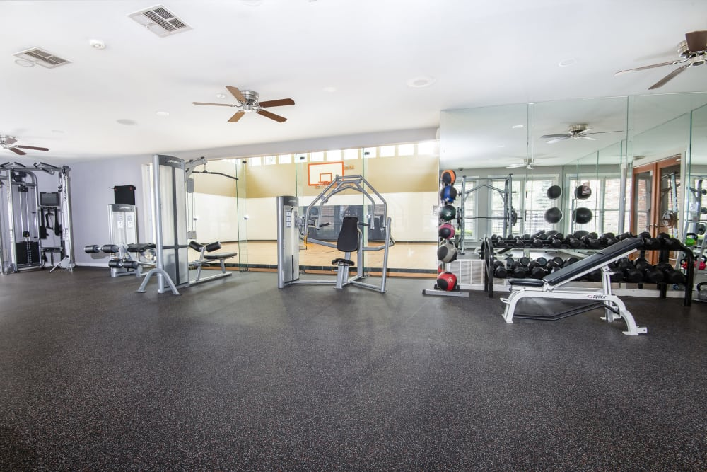 Our Apartments in Carrollton, Texas offer a Gym