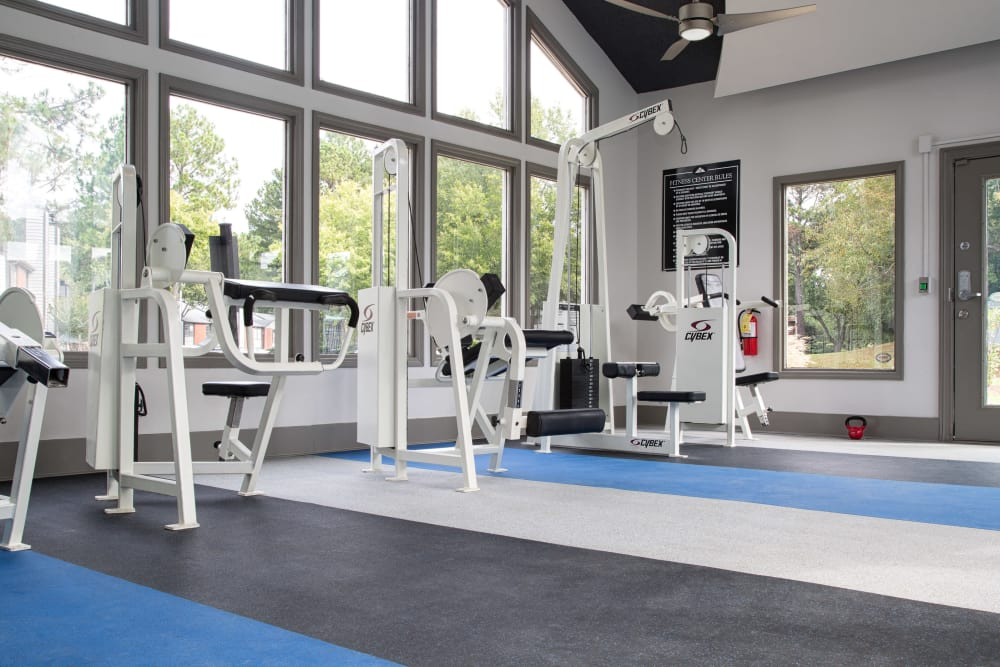 Fitness center at The Atlantic Sweetwater in Lawrenceville, Georgia