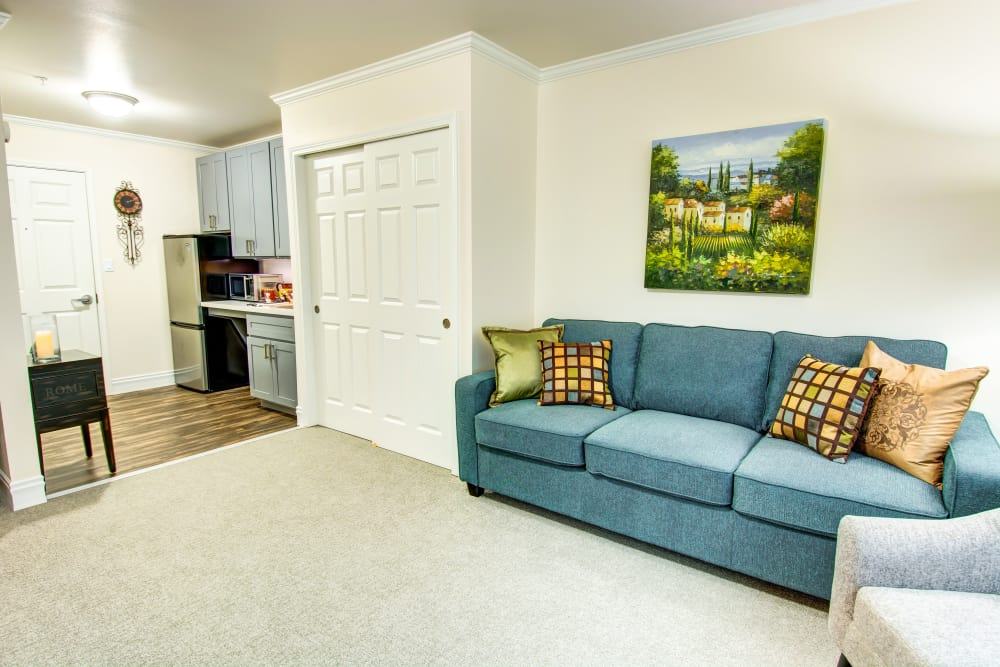 Bridgeport Place Assisted Living apartment