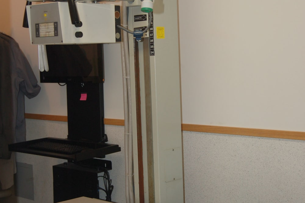 Radiology equipment at Kenmore Animal Hospital in Kenmore, New York