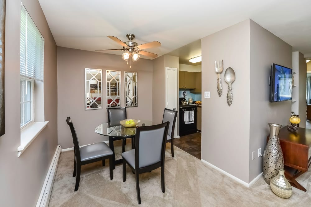 Dining Area in Apartments at Camp Hill Apartment Homes in Camp Hill, Pennsylvania