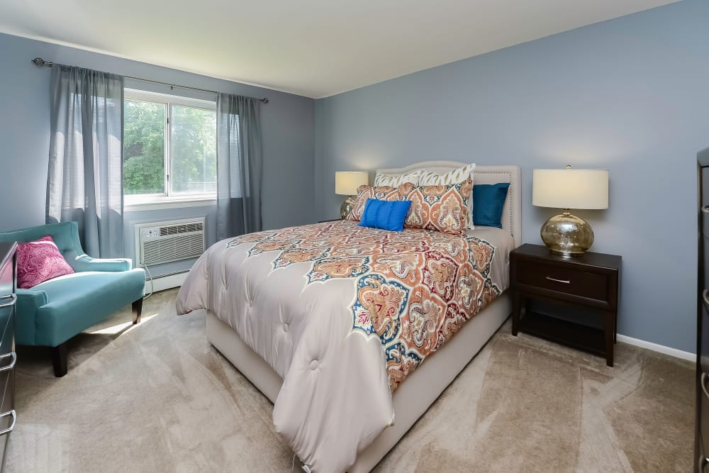 Bedroom at Camp Hill Apartment Homes in Camp Hill, Pennsylvania