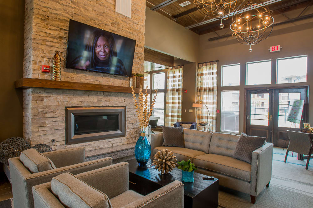 Luxury clubhouse at Icon at Corpus Christi in Corpus Christi, Texas