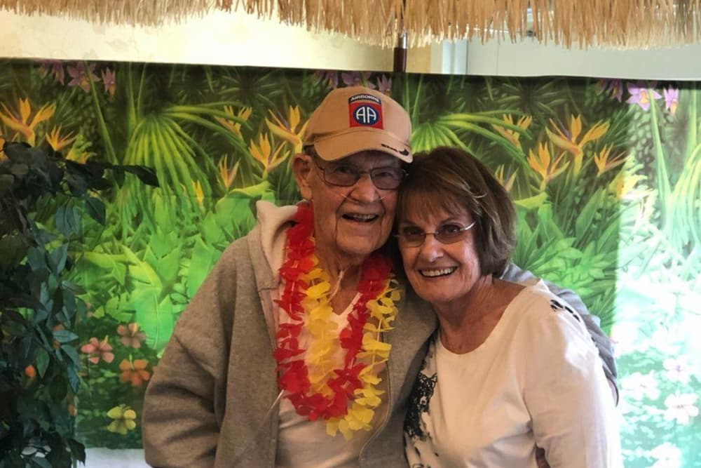 A happy couple at Cobblestone Crossings Health Campus in Terre Haute, Indiana