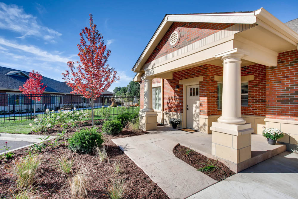 exterior view of Springs Ranch Memory Care & Independent Living Community