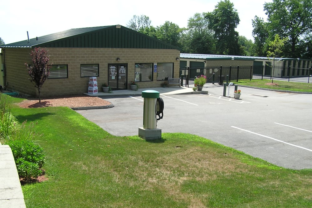 Office at Coventry Self Storage in Coventry, Connecticut