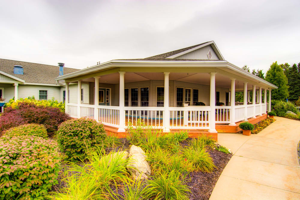 Curry House senior living, assisted living, and memory care