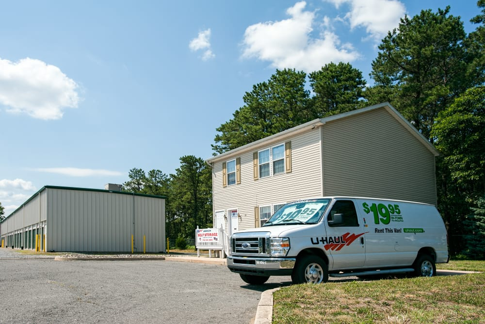 Moving van available at American Self Storage in Lakehurst, New Jersey