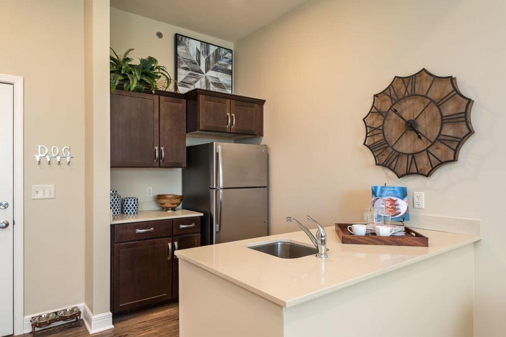 Kitchen area at Stonecrest at Burlington Creek in Kansas City