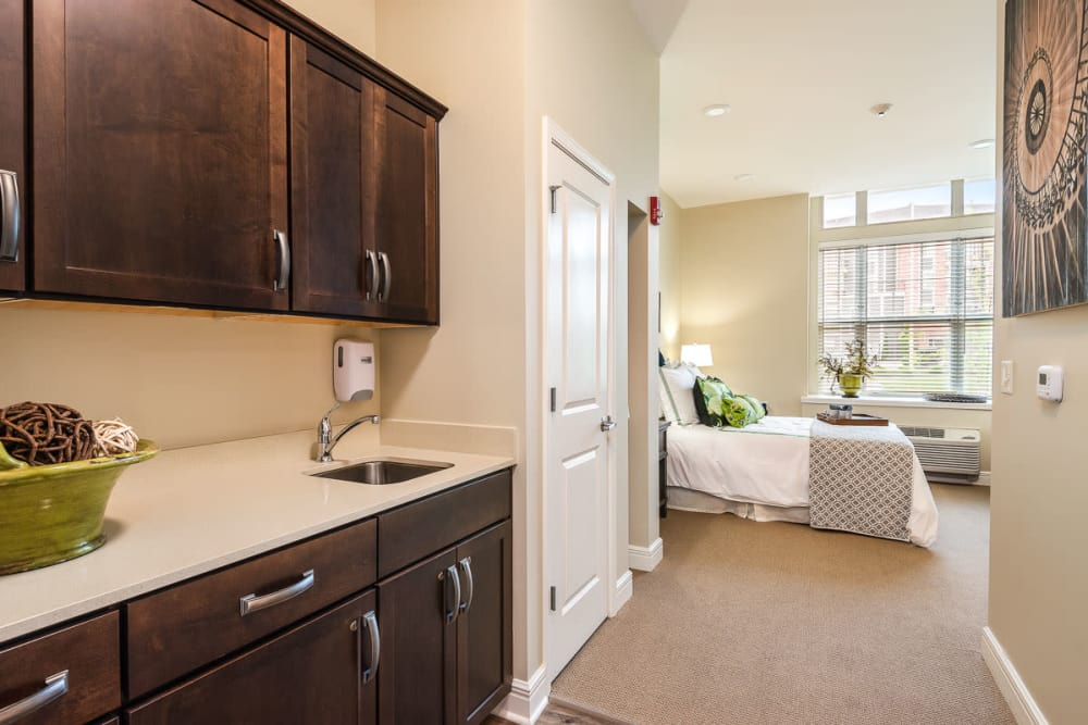 Private Suite at Stonecrest at Burlington Creek in Kansas City