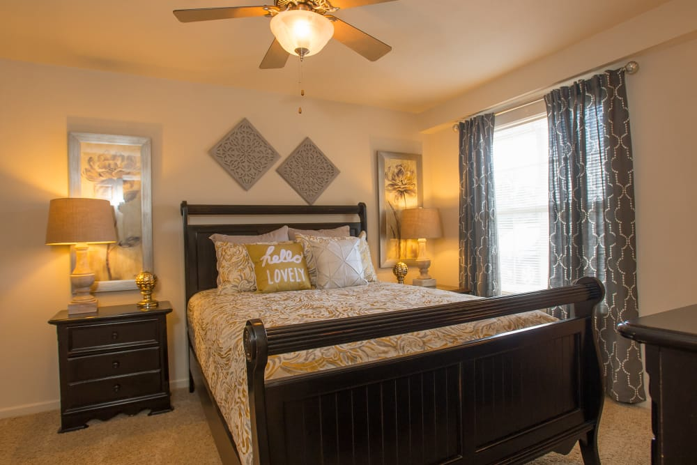 Bedroom at Villas at Stonebridge in Edmond, Oklahoma
