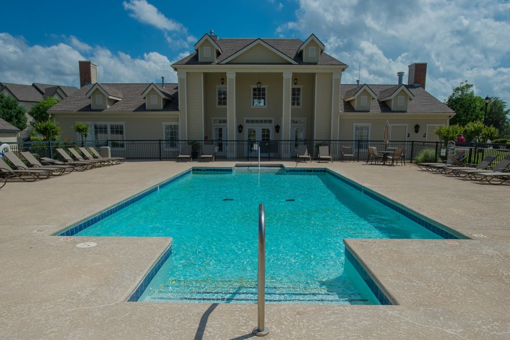 Pool at Villas at Stonebridge in Edmond, Oklahoma