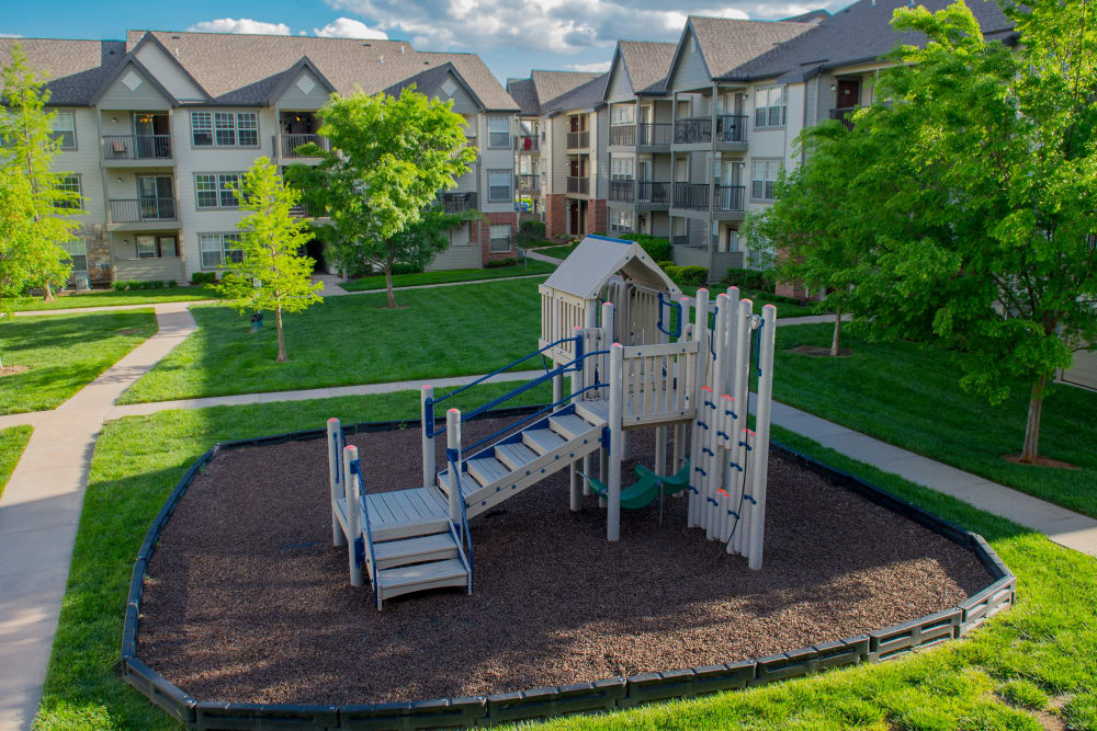 Playground at Villas of Waterford Apartments in Wichita, Kansas