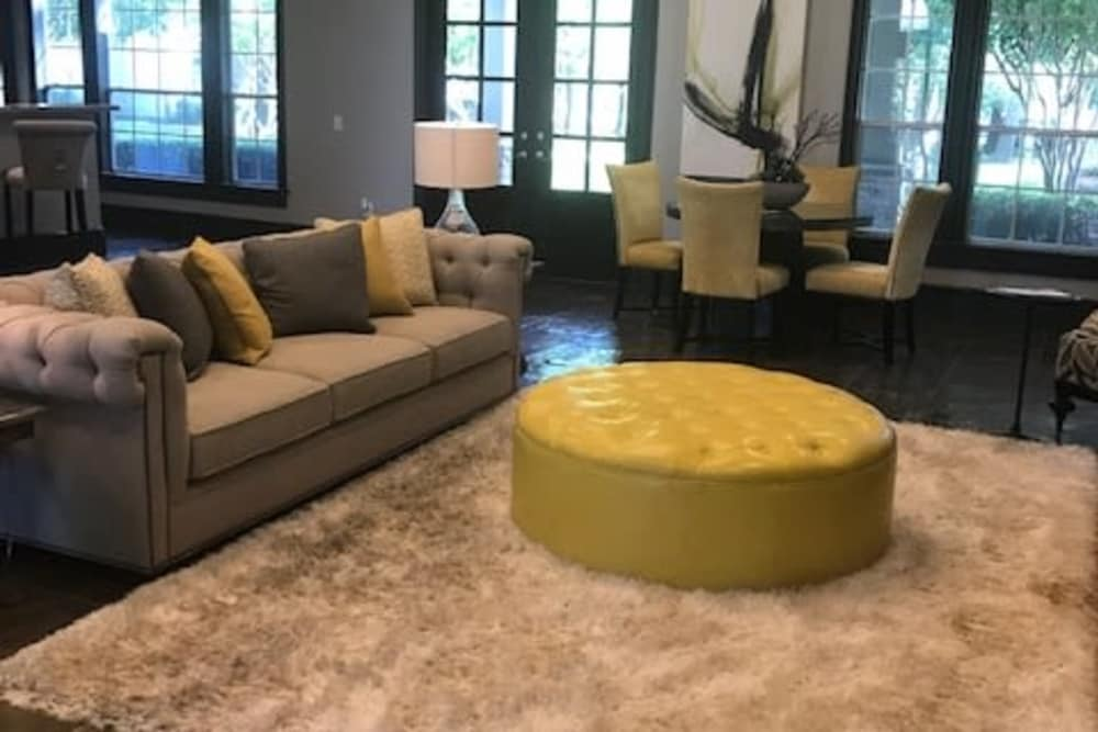 Interior of Parc @ Champion Forest's clubhouse in Houston, Texas