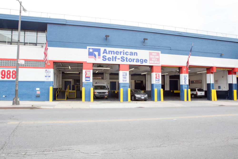 Drive up access at American Self Storage in Bronx, New York