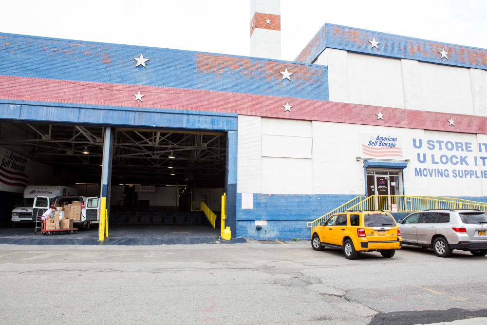 Clean dock area at American Self Storage in Long Island City, New York