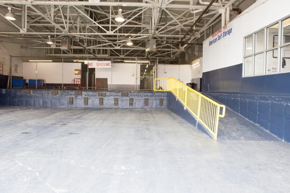 Loading ramp at American Self Storage in Long Island City, New York
