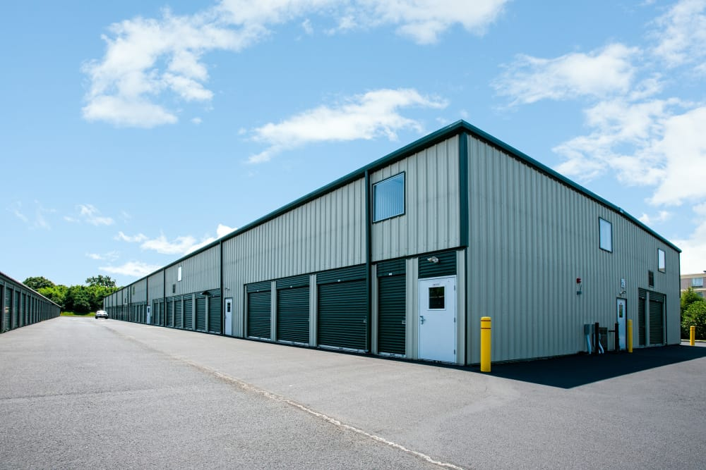 Exterior units at American Self Storage in West Long Branch, New Jersey