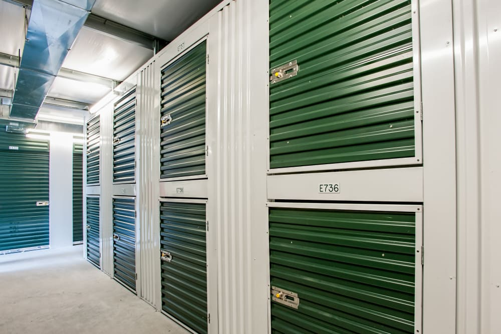 Locker units at American Self Storage in West Long Branch, New Jersey