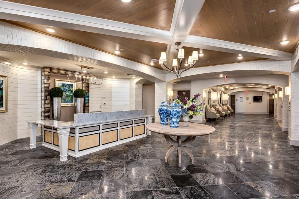 Lobby at Stonecrest of Louisville in Louisville