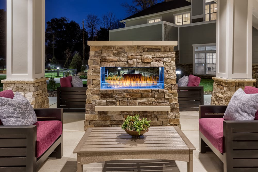 Beautiful Outdoor Area at Stonecrest of Meridian Hills in Indianapolis
