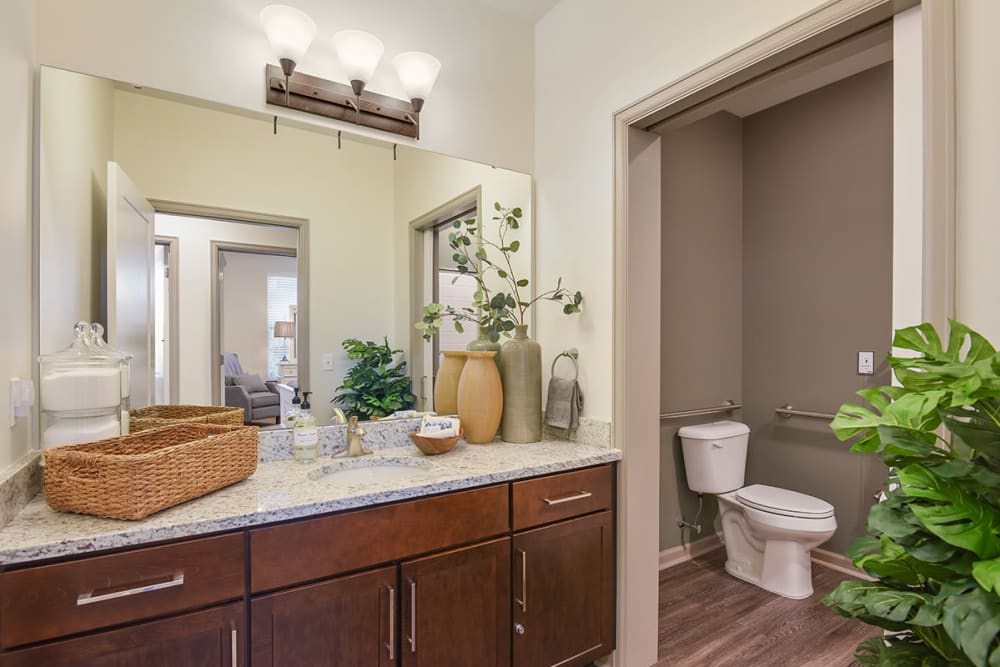 Spacious Bathroom at Stonecrest of Town & Country