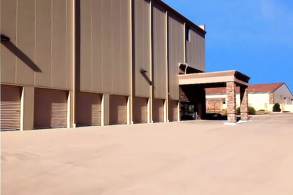 Exterior view at Prime Storage in Colorado Springs, Colorado