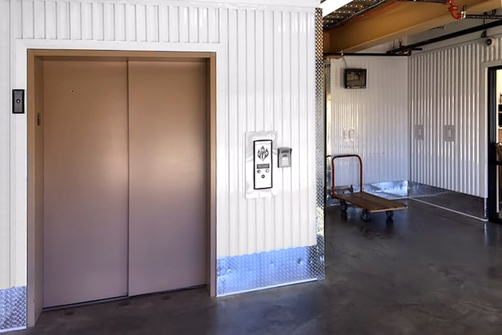 Elevator at Prime Storage in Colorado Springs, Colorado