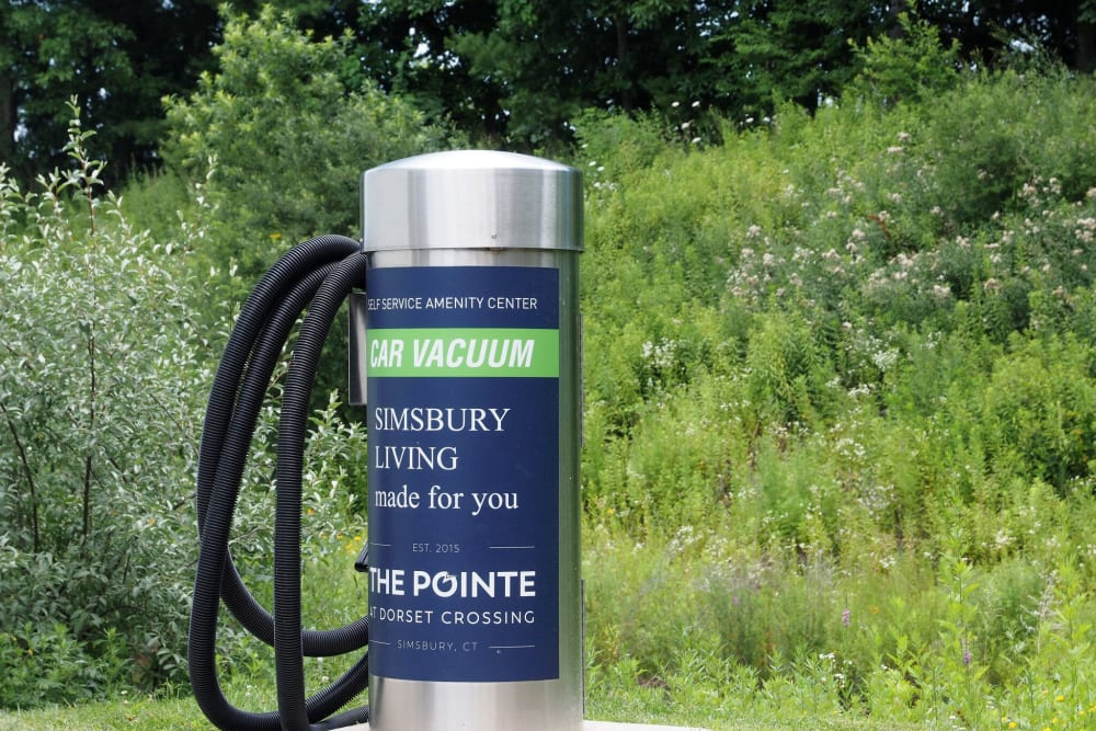 Vehicle Vacuum at The Pointe at Dorset Crossing