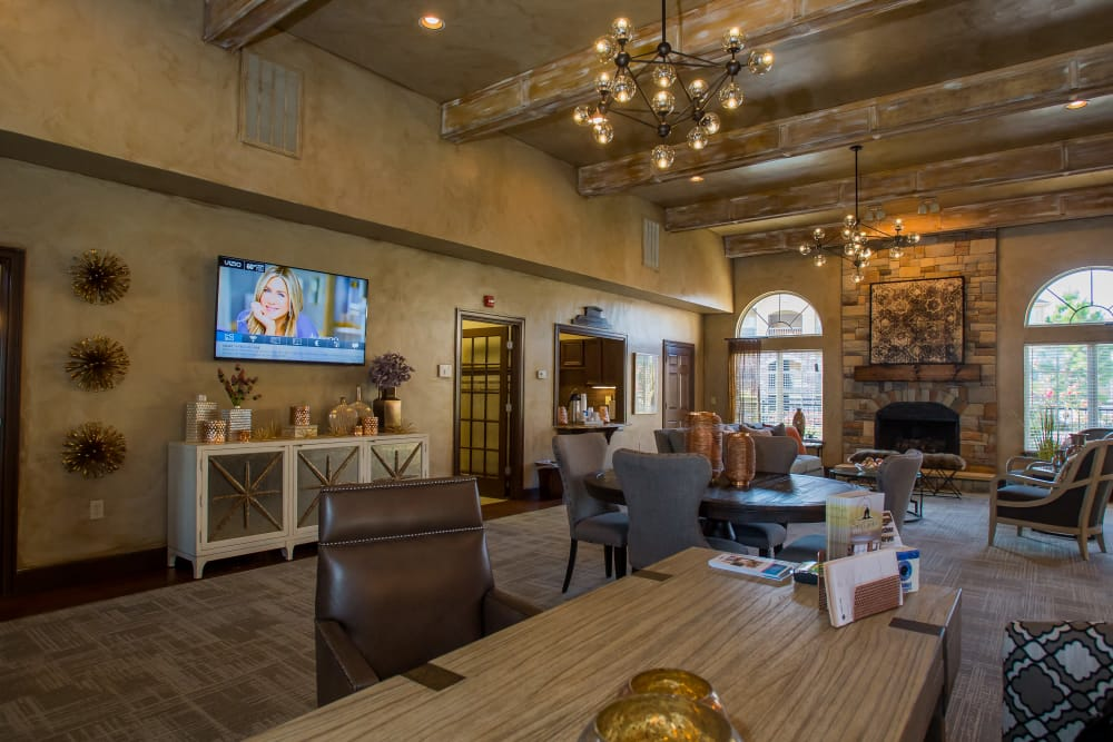 Coffee Creek Apartments offers a clubhouse in Owasso, Oklahoma