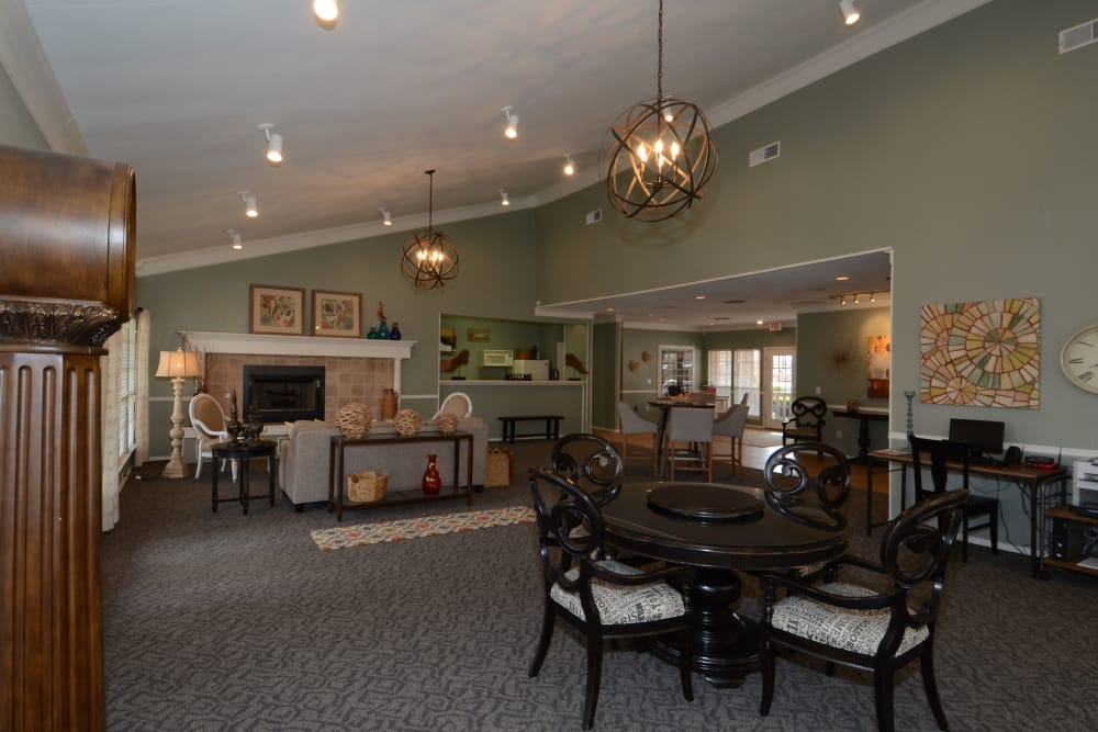 Newport Apartments offers a luxury clubhouse in Amarillo, Texas