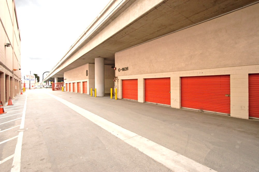 Spacious units at Fort Self Storage in Los Angeles, California