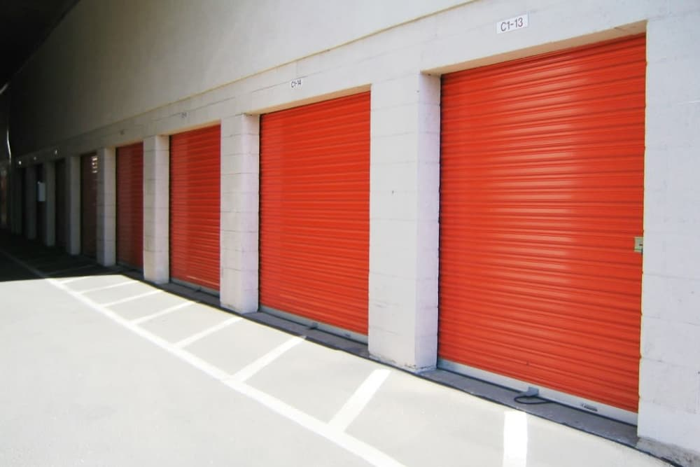 Outdoor storage photo at Fort Self Storage in Los Angeles, California