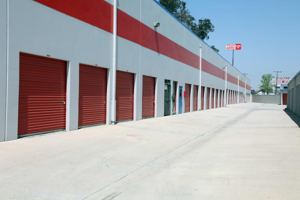 Large storage at  Trojan Storage in Colton, California