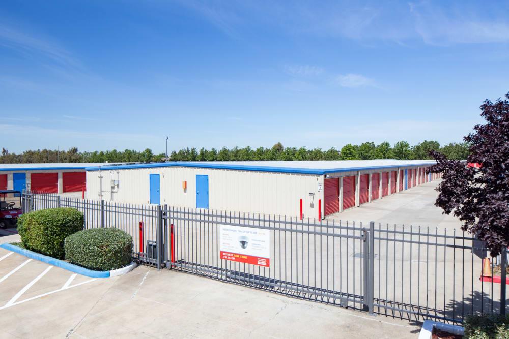 Gated access to Trojan Storage in Elk Grove, California