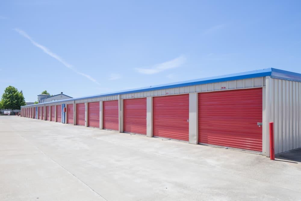 Outdoor units at Trojan Storage in Elk Grove, California