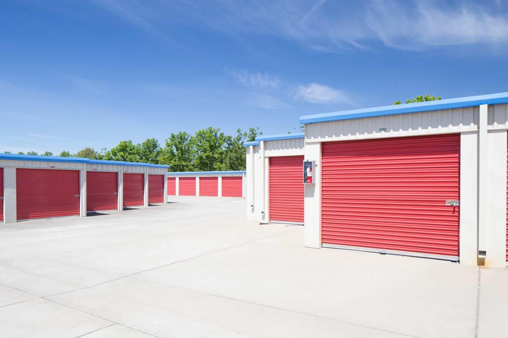 Outside Storage at Trojan Storage in Elk Grove, California